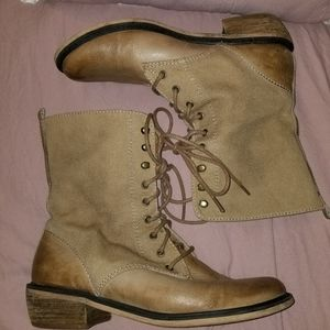 Nordstrom BP Lace Up Combat Boots